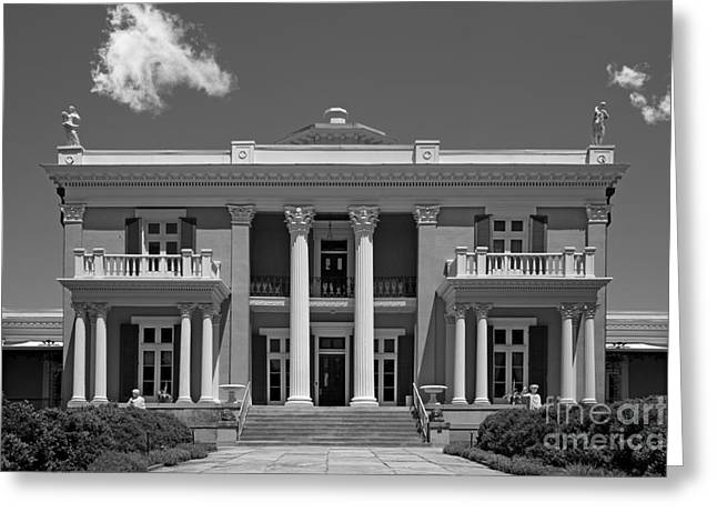 Belmont University Belmont Mansion Greeting Card by University Icons