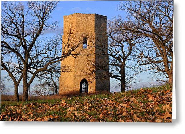 Beloit Historic Water Tower Greeting Card