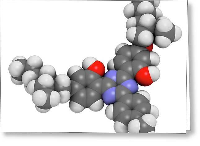 Bemotrizinol Sunscreen Molecule Greeting Card