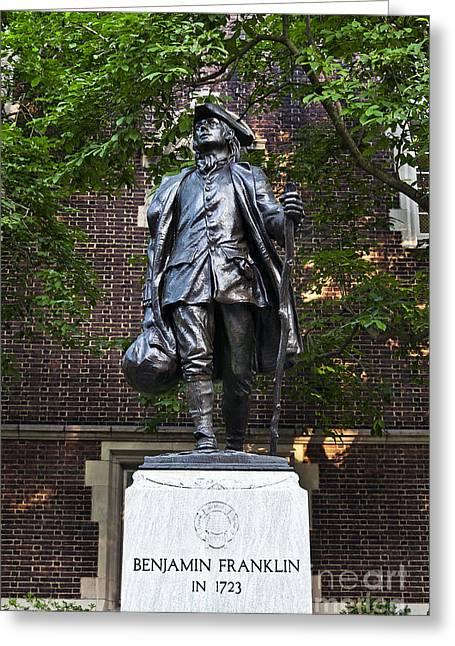 Ben Franklin Philadelphia Greeting Card