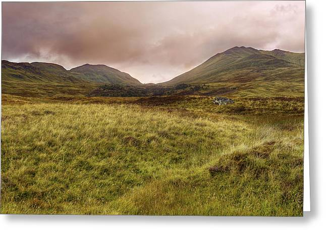Ben Lawers - Scotland - Mountain - Landscape Greeting Card