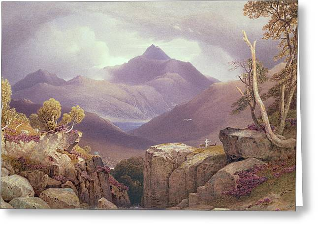 Ben Lomond Greeting Card by George Fennel Robson