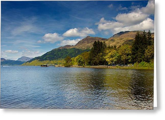 Greeting Card featuring the photograph Ben Lomond by Stephen Taylor