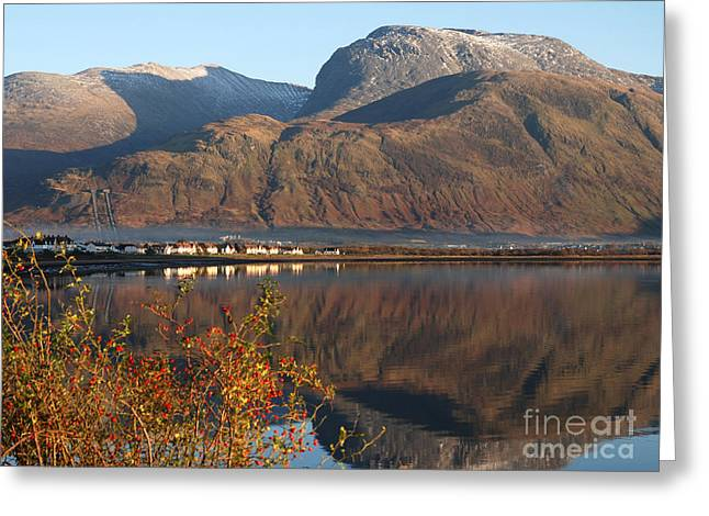 Ben Nevis - Autumn Greeting Card