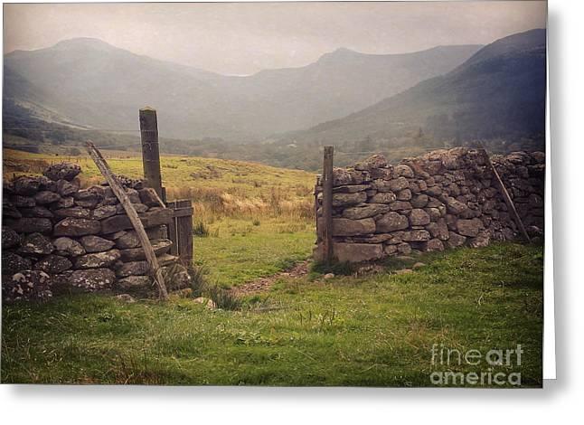 Ben Nevis Mountian Range Greeting Card by Roy  McPeak