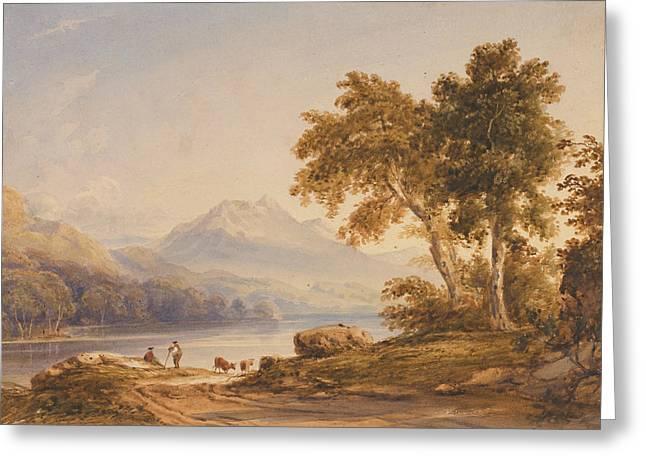Ben Vorlich And Loch Lomond Greeting Card