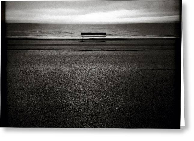 Sea View Greeting Card by Dave Bowman