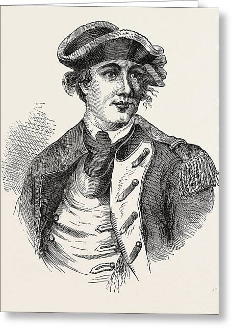 Benedict Arnold Was A General During The American Greeting Card by English School