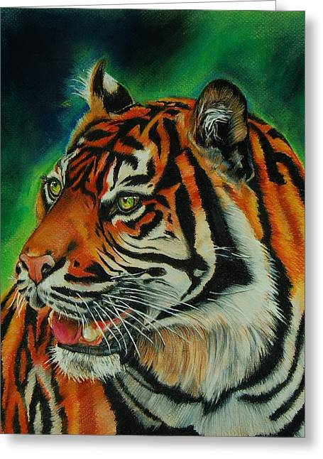 Bengal Greeting Card by Jean Cormier