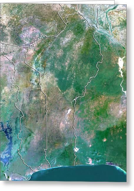 Benin Greeting Card