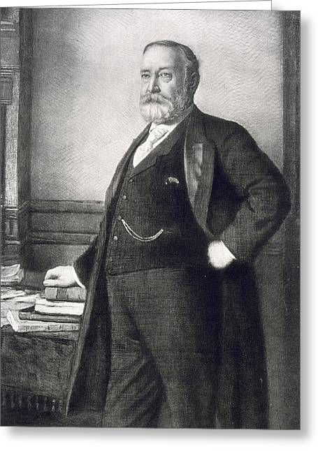 Benjamin Harrison  Greeting Card by American School