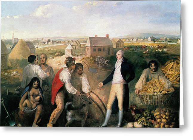Benjamin Hawkins (1754-1816) Greeting Card