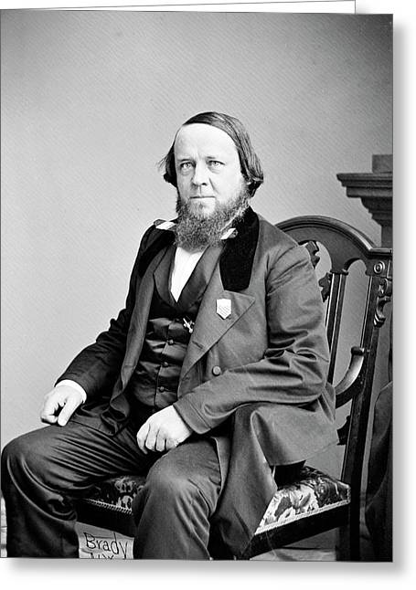 Benjamin Silliman Greeting Card by Library Of Congress