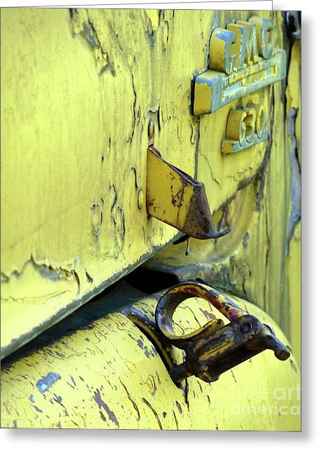 Greeting Card featuring the photograph Bent by Newel Hunter