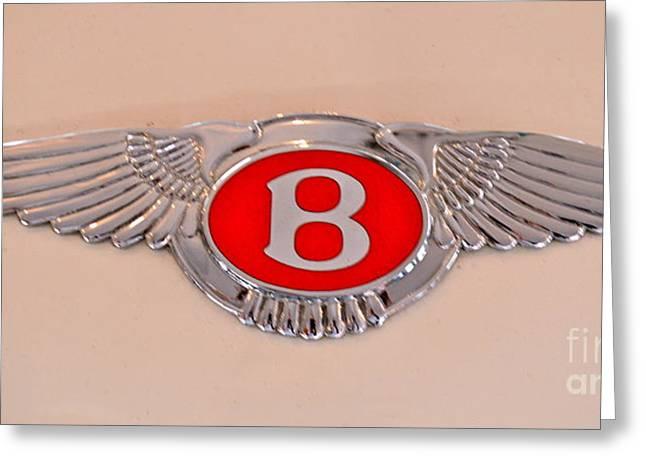 Bentley Emblem Greeting Card