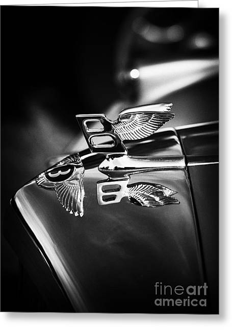 Bentley Hood Ornament  Greeting Card by Tim Gainey
