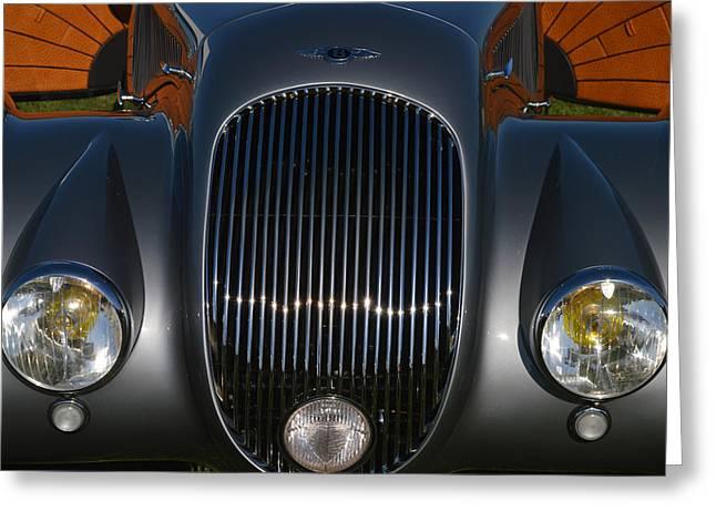 Bentley Roadster Greeting Card