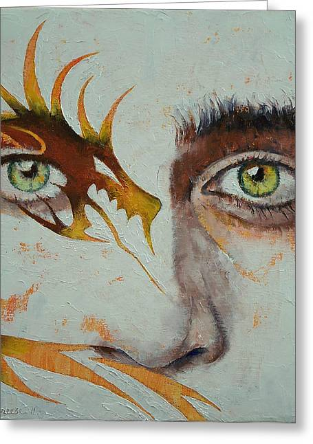 Beowulf Greeting Card by Michael Creese