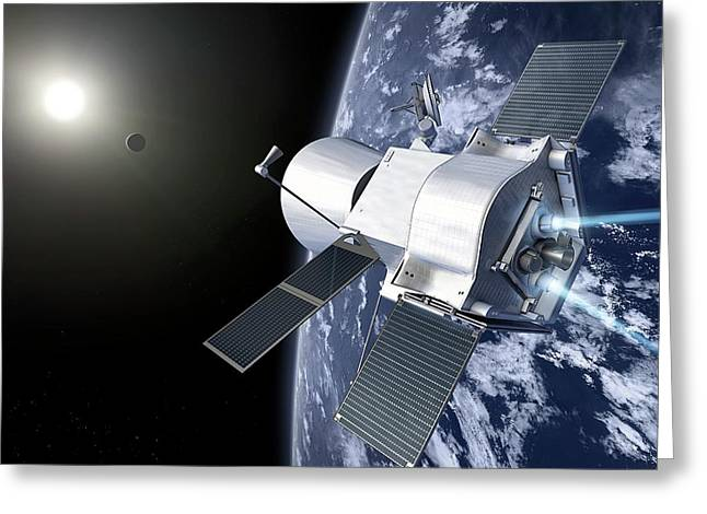 Bepicolombo Mission Greeting Card by Esa-production Aoes Medialab