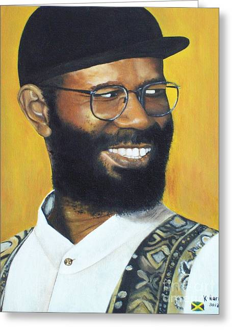 Beres Hammond - Music Is Life Greeting Card