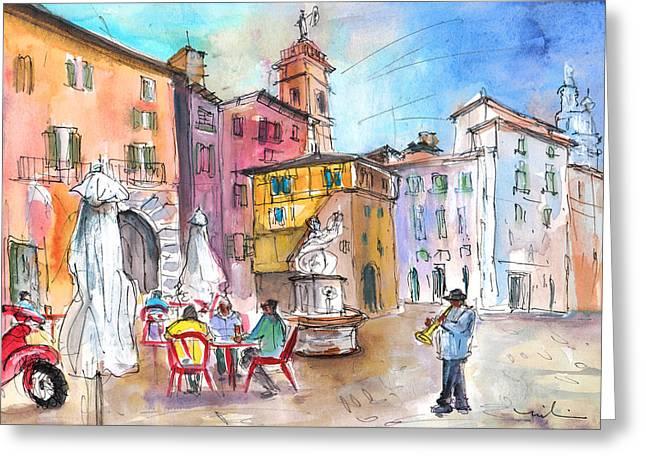 Bergamo Lower Town 02 Greeting Card