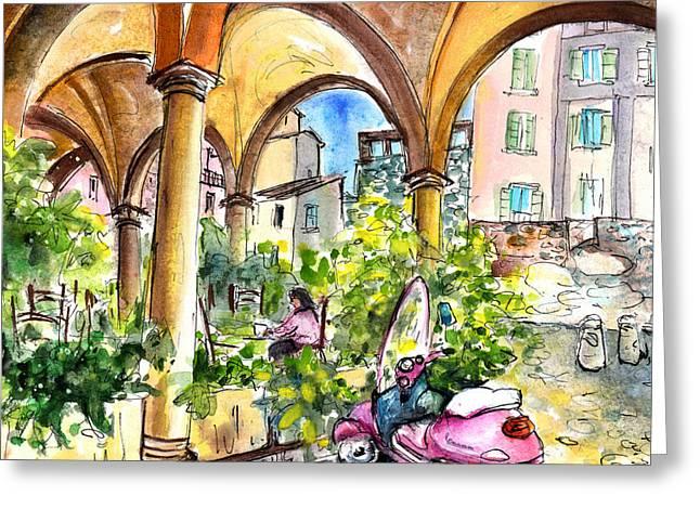 Bergamo Upper Town 02 Greeting Card
