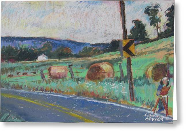 Berkshire Mountain Painter Greeting Card