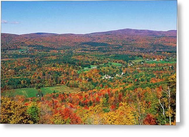 Berkshire Mountains, Massachussetts Greeting Card