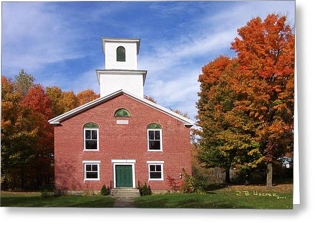 Berkshire Vermont Greeting Card