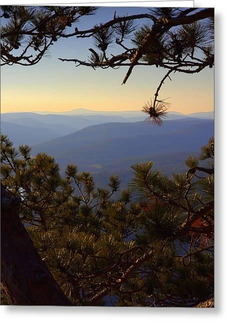 Berkshire View Greeting Card
