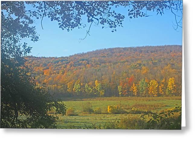 Berkshires Colors  Greeting Card