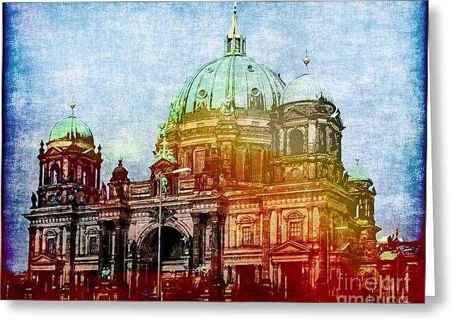 Berlin Dome Greeting Card