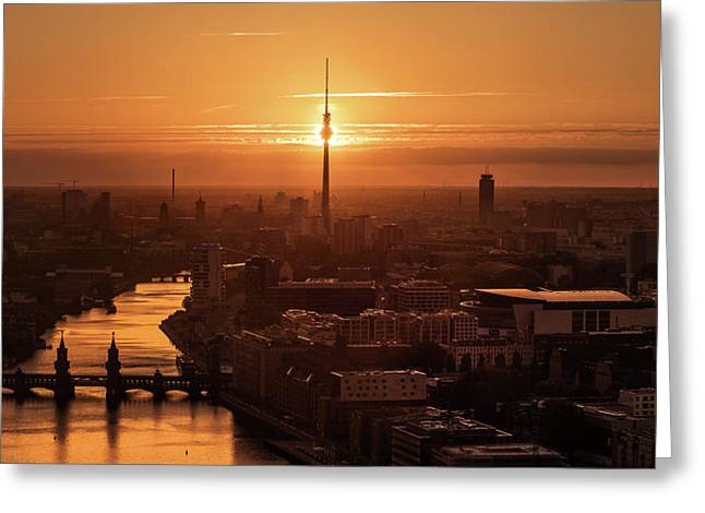 Berlin - Eclipse Greeting Card