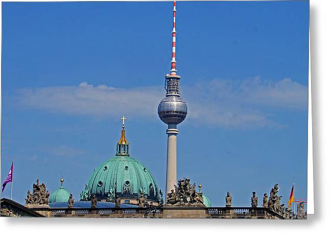 Berlin Greeting Card by Kees Colijn