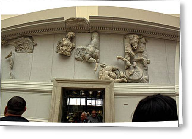 Berlin - Pergamon Museum - No.01 Greeting Card by Gregory Dyer
