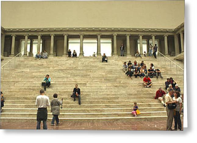 Berlin - Pergamon Museum - No.03 Greeting Card by Gregory Dyer