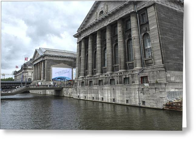 Berlin - Pergamon Museum - No.04 Greeting Card by Gregory Dyer