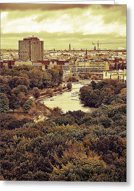 Berlin / View Greeting Card by Gynt