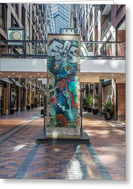 Berlin Wall Greeting Card by Pierre Leclerc Photography