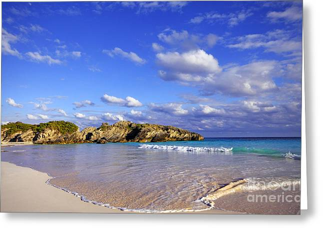 Bermuda Horseshoe Bay Greeting Card
