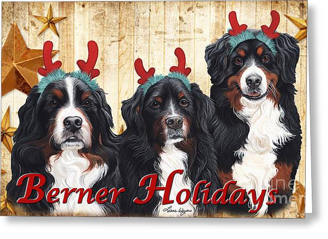 Berner Holiday Greeting Card by Liane Weyers