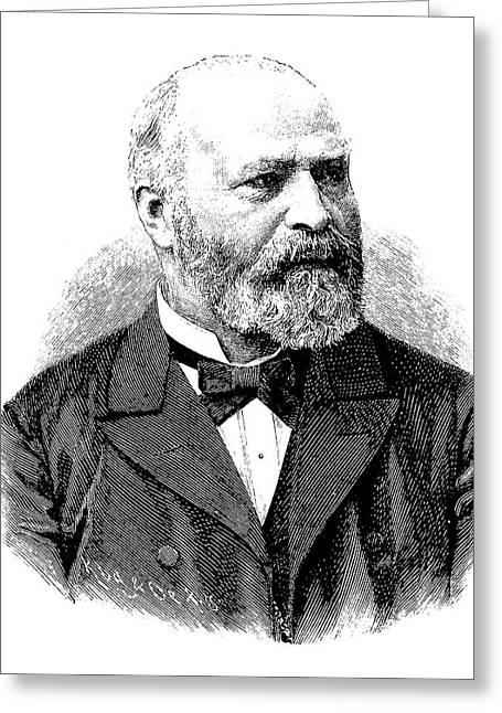 Bernhard Von Gudden Greeting Card by Bildagentur-online/tschanz
