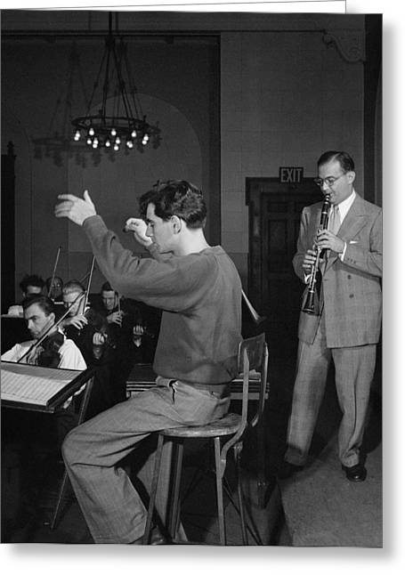 Bernstein & Goodman, C1947 Greeting Card