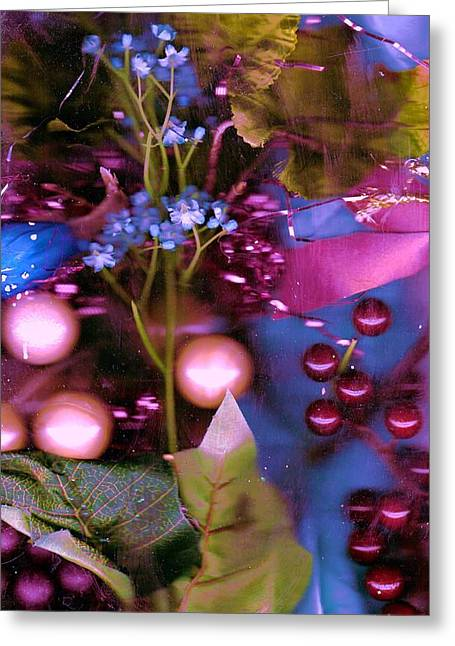 Berries And More Greeting Card by Anne-Elizabeth Whiteway