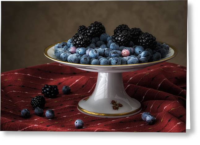 Berries In Soft Light Greeting Card
