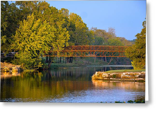 Berry Creek Bridge Greeting Card