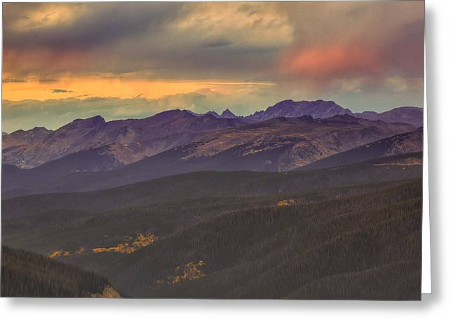 Berthoud Pass Greeting Card by Jennifer Grover