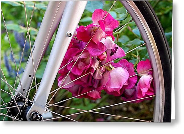 Bespoke Flower Arrangement Greeting Card