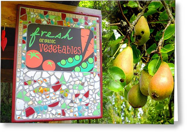 Best Farmstand Greeting Card by Lyn  Perry