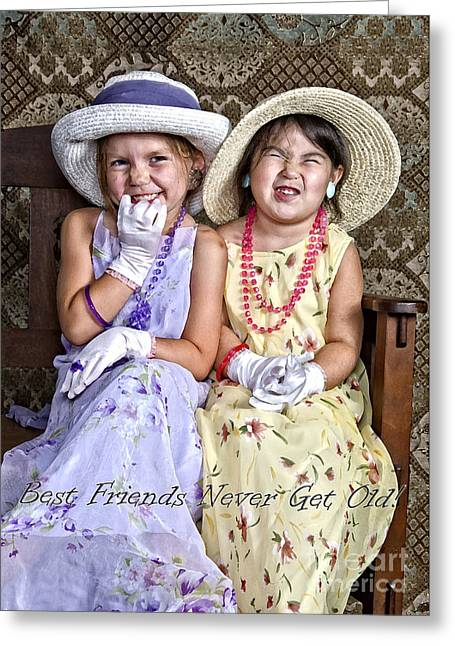 Best Friends Card Greeting Card